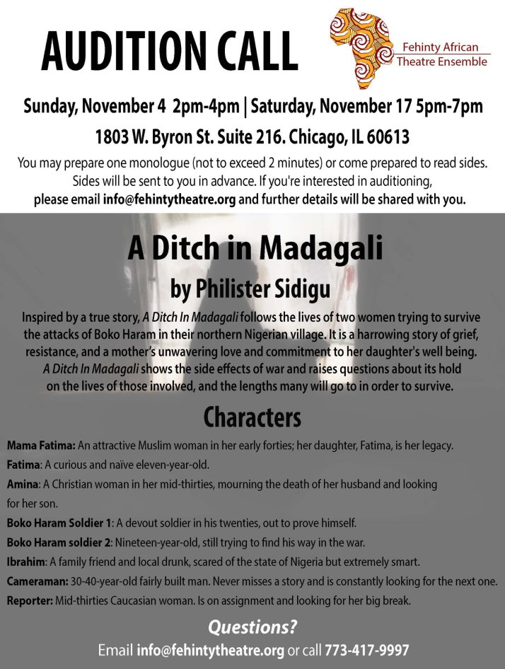 A.D.M Audition Call
